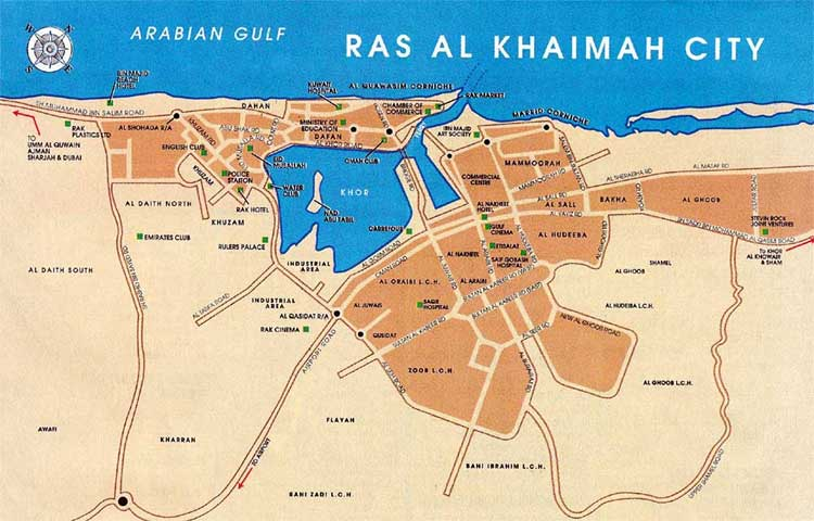 Ras Al Khaimah UAE MapsOnline tours city guides UAEinteract